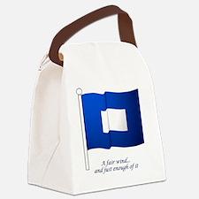 bluepeter[3x3_bear] Canvas Lunch Bag