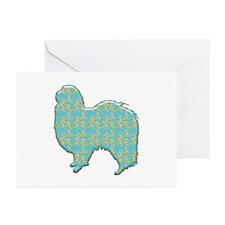 Paisley Chin Greeting Cards (Pk of 10)