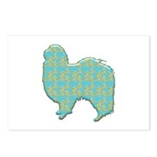 Paisley Chin Postcards (Package of 8)