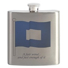 bluepeter[206_H_F] Flask