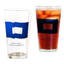 bluepeter[14x10_print] Drinking Glass