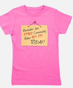 KMUZ_old-paper-message-3_LARGE copy Girl's Tee