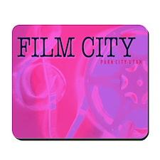 FilmCityPink Mousepad