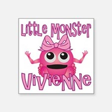 "vivienne-g-monster Square Sticker 3"" x 3"""