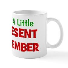 expectingalittlepresentindecember Mug