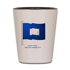 bluepeter[9x7] Shot Glass