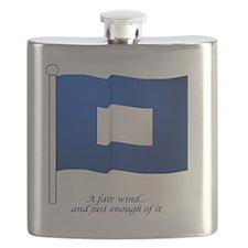 bluepeter[7x7_apparel] Flask