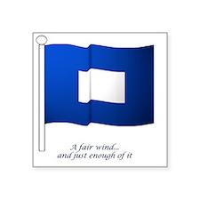 "bluepeter[7x7_apparel] Square Sticker 3"" x 3"""