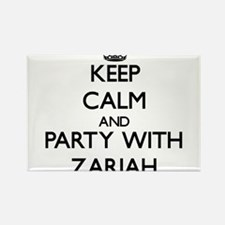 Keep Calm and Party with Zariah Magnets