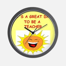 TEACHER.png Wall Clock