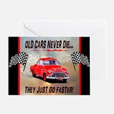 Old Cars Never Die! ( 10x 8) Mouse P Greeting Card