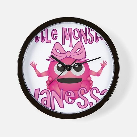 vanessa-g-monster Wall Clock