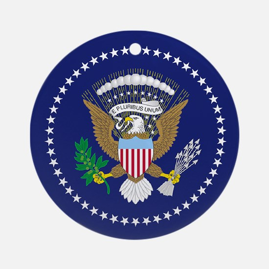 Presidential Seal Round Ornament