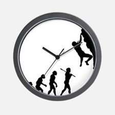 Rock Climbing 2 Wall Clock