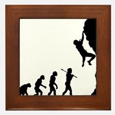 Rock Climbing 2 Framed Tile
