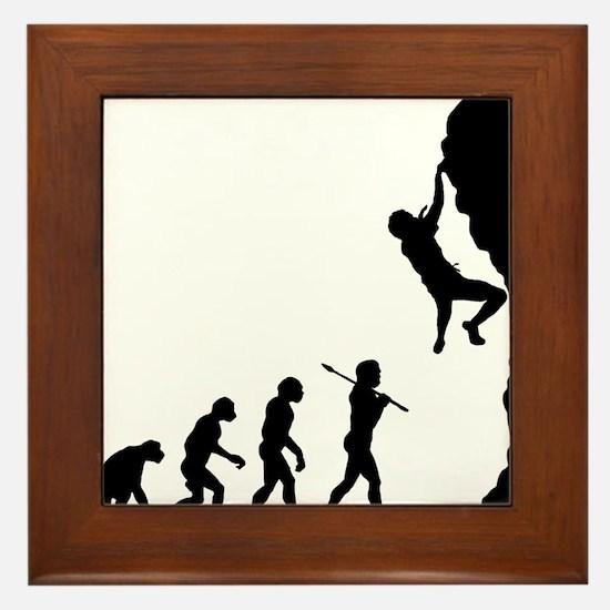 Rock Climbing 2 Framed Tile