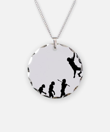 Rock Climbing 2 Necklace