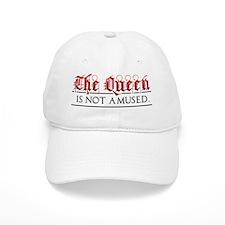 queen_notamused1 Baseball Cap