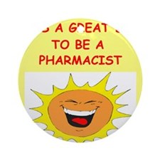 PHARMACIST.png Ornament (Round)
