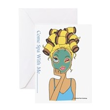 Classy Coco Greeting Card