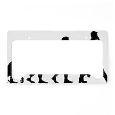 Businessman License Plate Holder