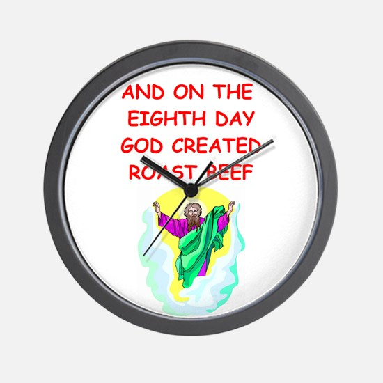 ROAST.png Wall Clock