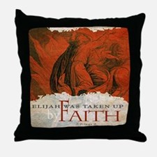 Bag_ByFaith_Elijah_v2 Throw Pillow