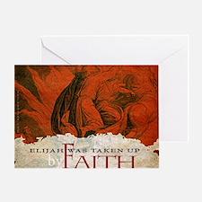 Bag_ByFaith_Elijah_v2 Greeting Card