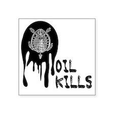 "Oil spill 2-t-shirt 06 Square Sticker 3"" x 3"""