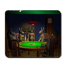 T0038B-DonkeysBestTable-2000x2000 Mousepad