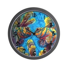 Mandarinfish Wall Clock
