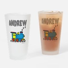 andrew-train2 Drinking Glass