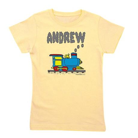 andrew-train2 Girl's Tee