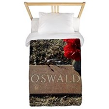Lee Harvey Oswald 1939-1963(framed pane Twin Duvet
