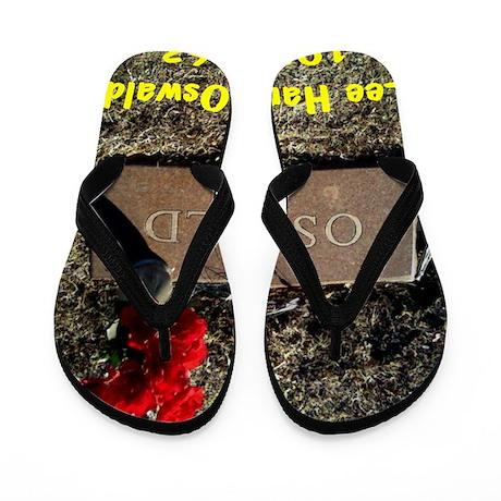 Lee Harvey Oswald 1939-1963(framed pane Flip Flops