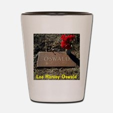Lee Harvey Oswald 1939-1963(framed pane Shot Glass