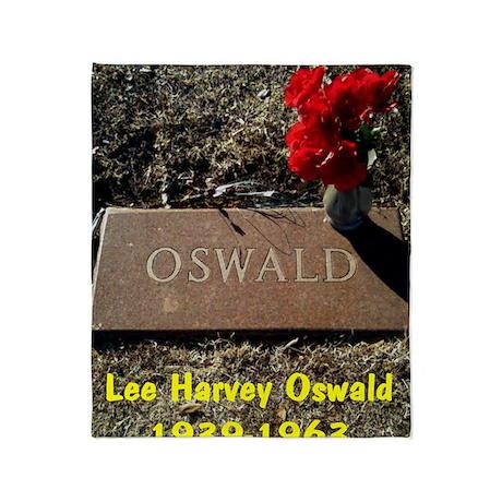 Lee Harvey Oswald 1939-1963(mini pos Throw Blanket