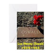 Lee Harvey Oswald 1939-1963(large po Greeting Card