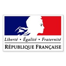 REPUBLIQUE FRANCAISE Decal