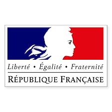 REPUBLIQUE FRANCAISE Decal