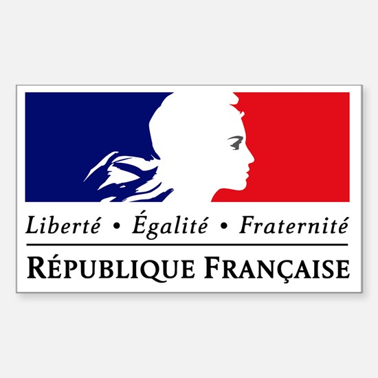 REPUBLIQUE FRANCAISE Sticker (Rectangle)