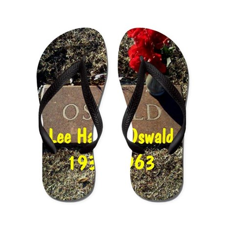 Lee Harvey Oswald 1939-1963(oval portra Flip Flops