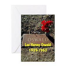 Lee Harvey Oswald 1939-1963(oval por Greeting Card