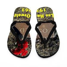 Lee Harvey Oswald 1939-1963(small poste Flip Flops
