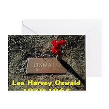 Lee Harvey Oswald 1939-1963(wall cal Greeting Card