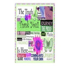 thanks5x8cirgreen Postcards (Package of 8)