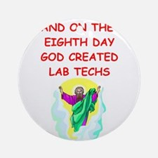 LABTECHS.png Ornament (Round)