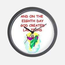 LABTECHS.png Wall Clock