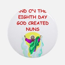 NUNS.png Ornament (Round)