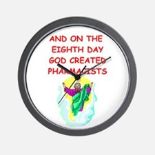 PHARMACISTS.png Wall Clock